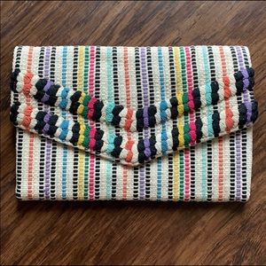 New Taj Woven Clutch Stella & Dot Lovestitch